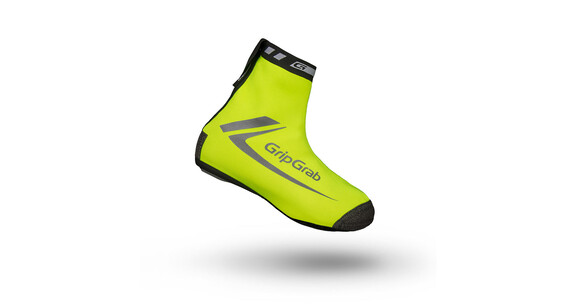 GripGrab RaceThermo Hi-Vis Overshoes yellow